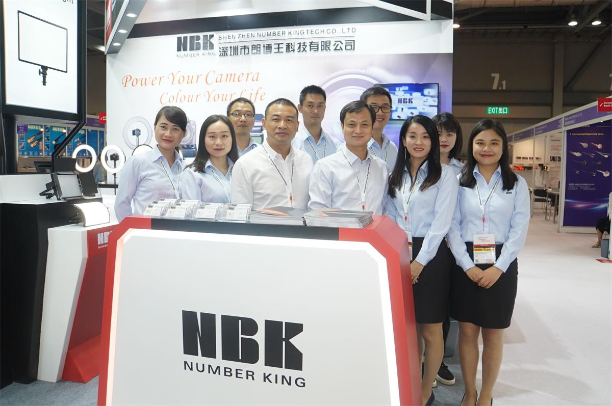 NBK in the Spring 2019 Global Sources Consumer Electronics Exhibition (Hong Kong).