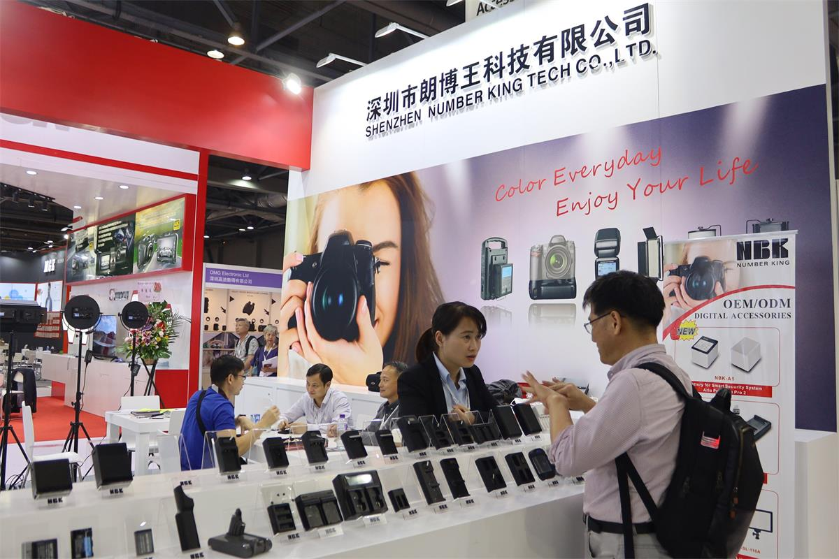 NBK in the Autumn 2019 Global Sources Consumer Electronics Exhibition (Hong Kong).